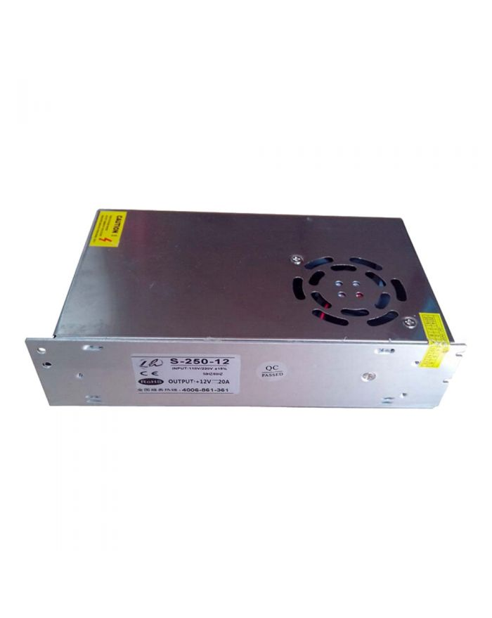 240W AC100V-240V to DC 24V 10A Non-Waterproof Metal Cover Universal LED Switching Power Supply