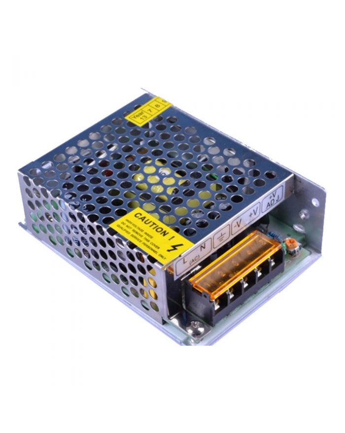 50.4W AC100V-240V to DC 24V 2.1A Non-Waterproof Metal Cover Universal LED Switching Power Supply