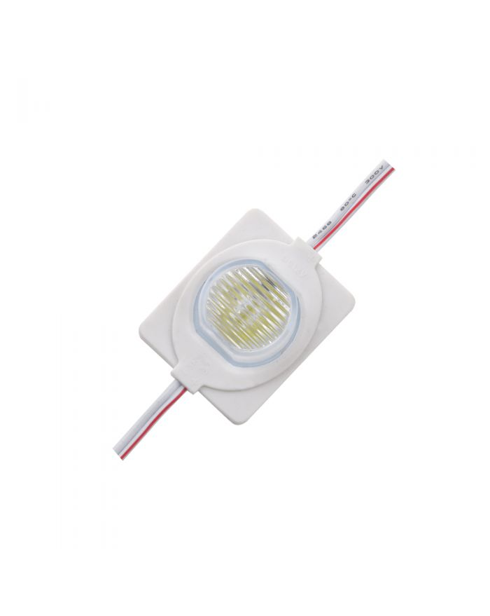 DC12V High Brightness SMD 5050 Waterproof LED Module (1 LED, White Light, 1.5W, L42xW32xH19mm) for Double-sided Lightbox