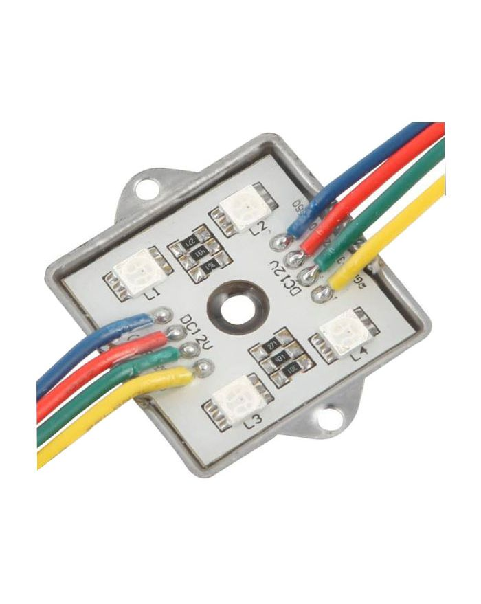 SMD5050 12VDC 1.2W Waterproof IP65 Colorful LED Module