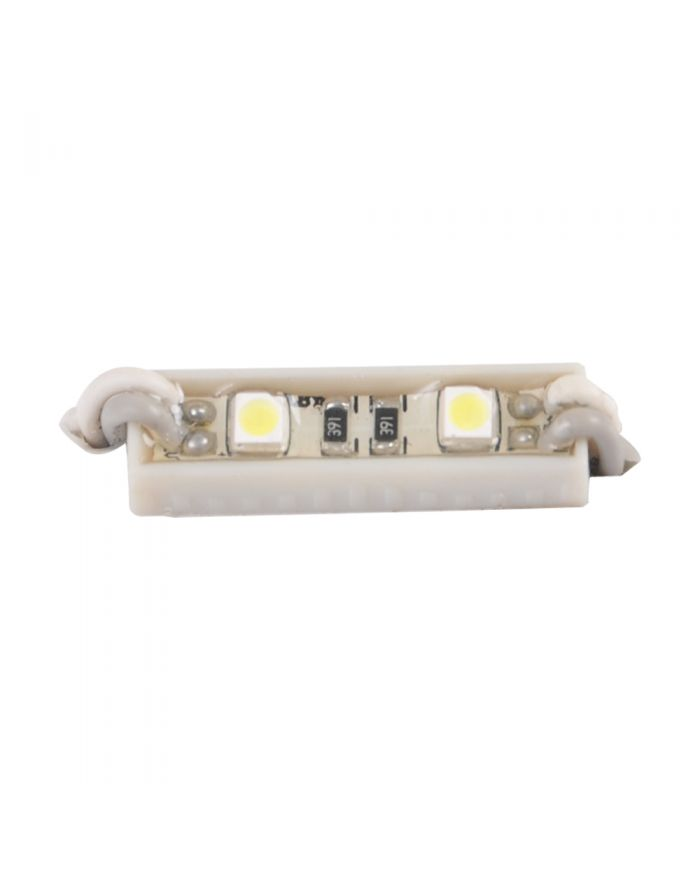 SMD 3528 Waterproof LED Module (2 LEDs, White Light, 0.24W, L26 x W7mm) For LED Channel Lights
