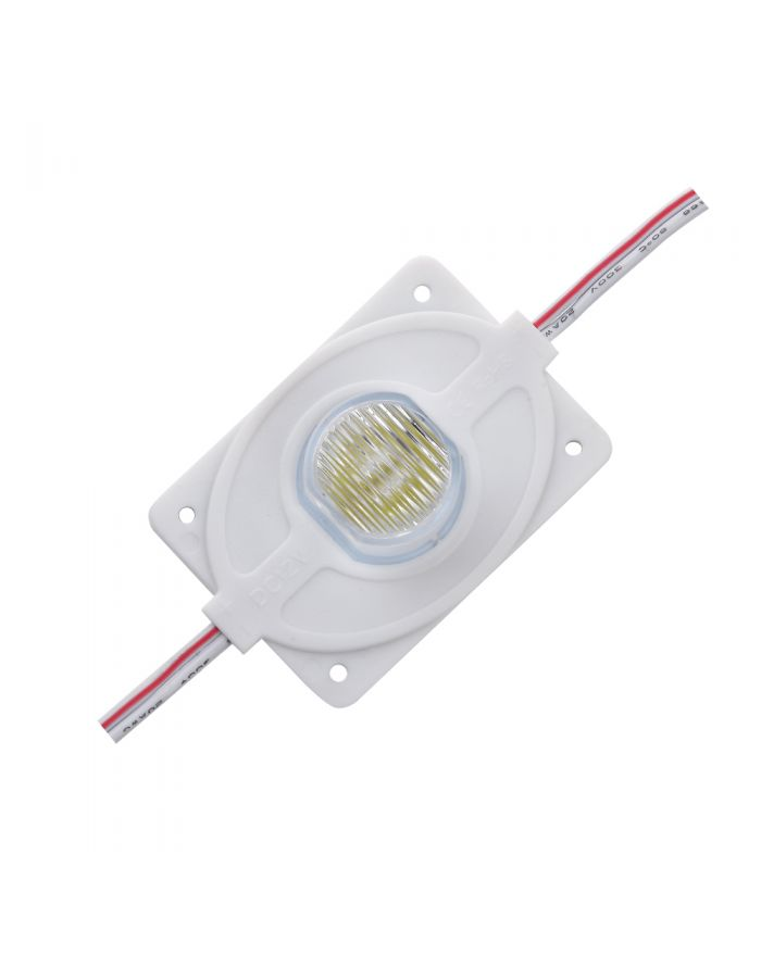 SMD 5050 Waterproof LED Module (1 LED, white light, 3W,L61xW40xH17.6mm) for Double-sided Lightbox