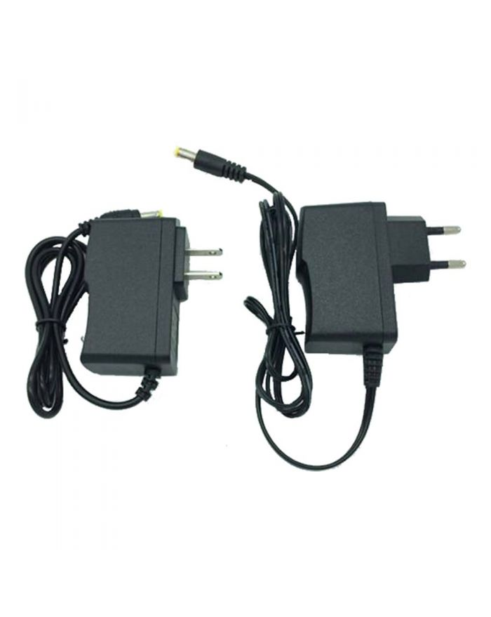12W AC100V-240V to DC 12V 1A Glue Cover Universal Direct Plug in Power Supply Adapter