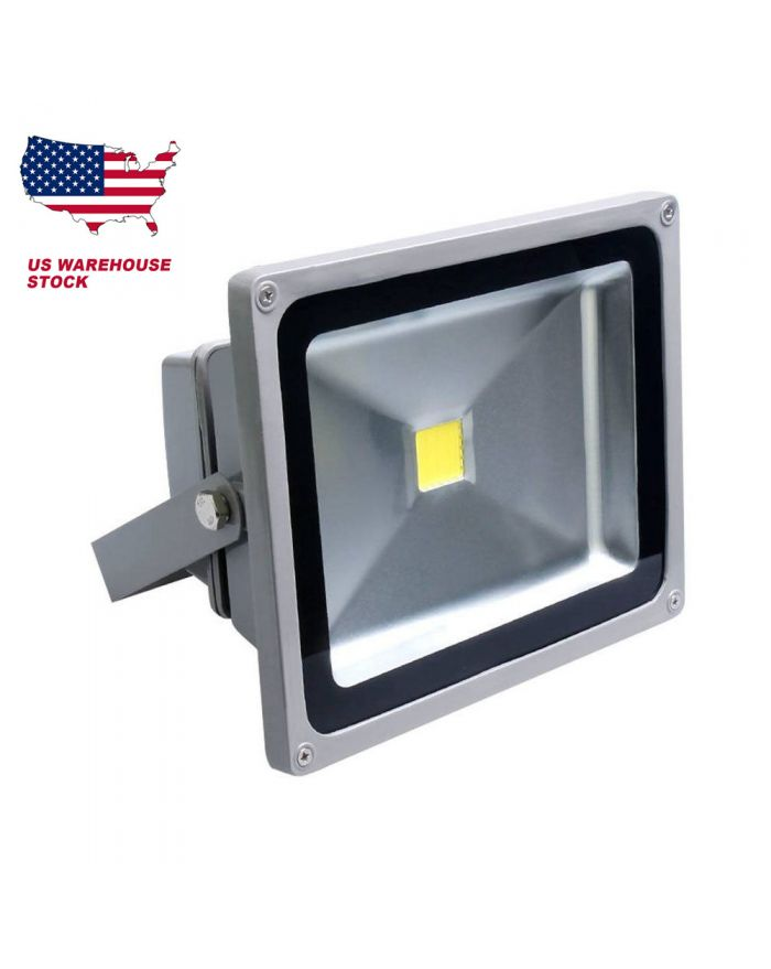 DC12-24V 50W LED Flood Light Lamp Outdoor Spot Light Waterproof Cold/Warm White