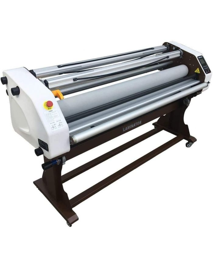 US STOCK 67 inches Full Automatic Take Up Cold/Hot Laminator Wide Format Laminating Machine