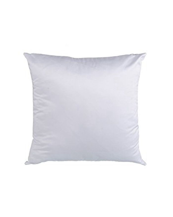 Plain White 3D Sublimation Blanks Throw Pillow Case Fashion Cushion Cover 50pcs