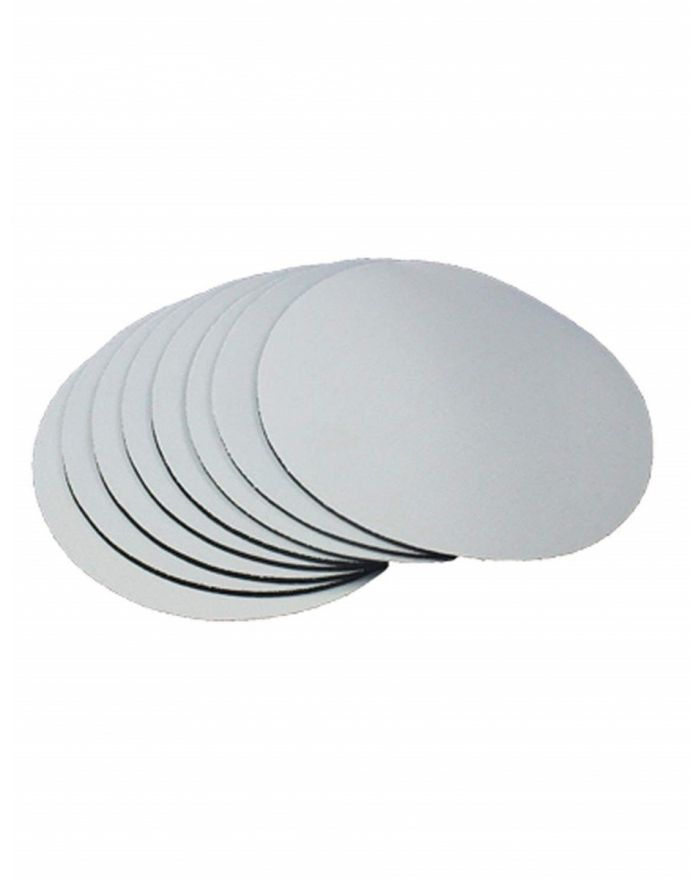 Circular Sublimation Blanks Mouse Pad Round Shape Mats For Heat Press Printing 7.9''x7.9''x0.12'' 10pcs
