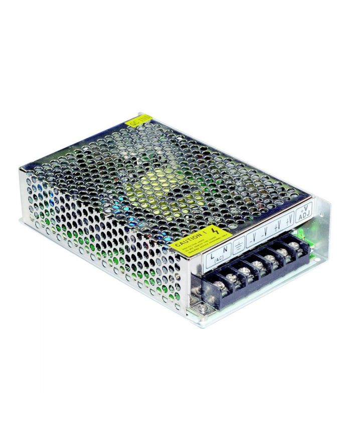 60W AC100V-240V to DC 12V 5A Non-Waterproof Metal Cover Universal LED Switching Power Supply