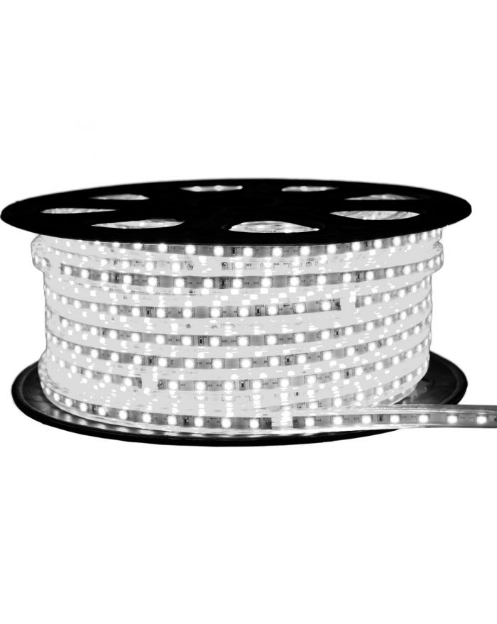 Cool White High Output SMD5050 Waterproof Flat LED Strip Light