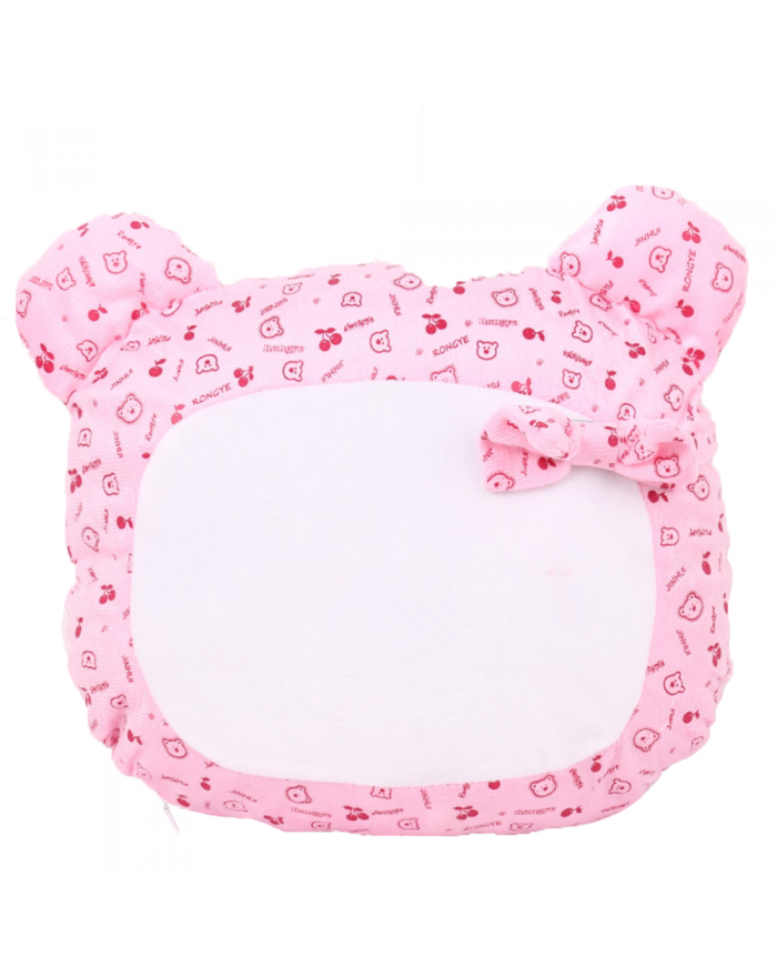 Lovely Sublimation BlankS Pillow Case with Little Bear Shape Cartoon Fashion Cushion Cover Girls' gift 10pcs