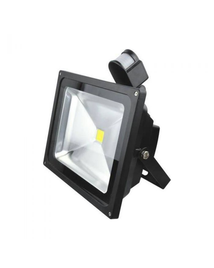 50W Outdoor LED Human Body Induction Motion Flood Light Outdoor Landscape Lamp Waterproof LED Security Lamp