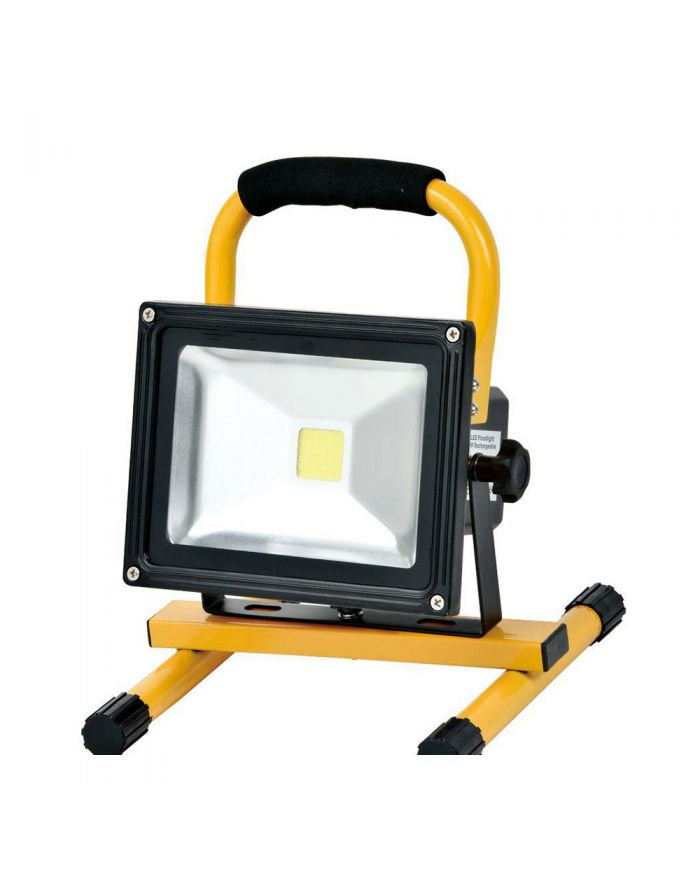 4 Hours 50W LED Work Light Rechargeable Flood Light Battery Powered for Outdoor Lighting
