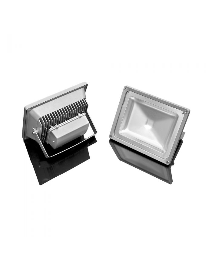 100W LED RGB Flood Light Outdoor Waterproof Color Changing Dimmable Security Lighting