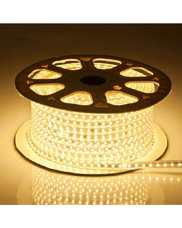 Warm White High Output SMD5050 Waterproof Flat LED Strip Light